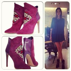 Spanish actress Dafne Fernandez with Howsty Etnia Boots