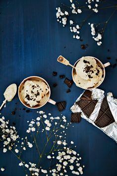 Diy Ice Cream, Goodies, Treats, Plates, Snacks, Vegan, Tableware, Cake, Desserts