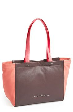 MARC BY MARC JACOBS 'What's the T - Mini' Leather Tote available at #Nordstrom