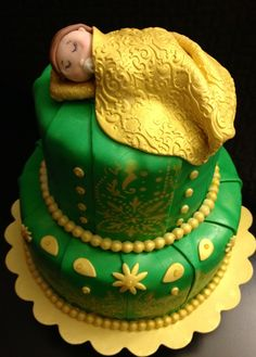 Vegan Guava Baby Shower Cake!