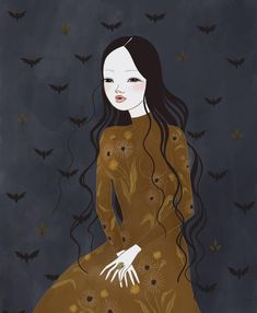 It's officially my favorite day of the year. Happy Halloween everyone! 🎃 Here's my first piece using the Still not totally sure… Days Of The Year, Folklore, Happy Halloween, Fairytale, Darkness, Study, My Favorite Things, Drawings, Illustration