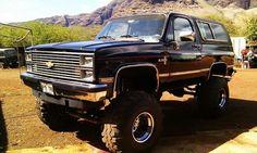 84 Chevy Blazer