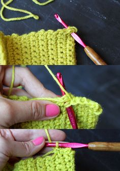 sew crochet pencil pouch