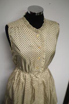 Paisley Japanese vintage dress #bleeckerstreetvintage #vintage