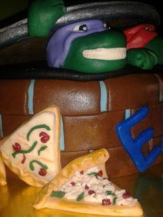 Detalles cake tortugas ninjas
