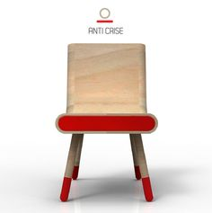 In an era marked by the economic crisis we are pushed to analyze what is our role as designers in the creation of change and definition of new habits. The Anti Crise chair is a chair beyond the functional and ergonomic and communicates it self as an object embedded in cultural and social values.