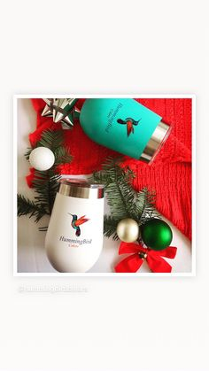 Hummingbird Colors, Wine Tumblers, Christmas Bulbs, Holiday Decor, Home Decor, Decoration Home, Christmas Light Bulbs, Room Decor, Home Interior Design