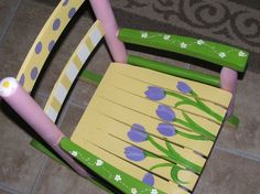 Chairs for Charity Tulip 1 | Flickr - Photo Sharing!
