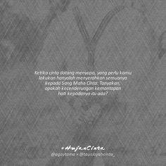 Jika memang hatimu telah mantap kepadanya maka langkah berikutnya adalah ikhtiar untuk saling memperkenalkan diri melalui perantara yang kau percaya keamanahannya.  Ingatlah bagaimana cara kita menjalani tempuhan menuju pernikahan itu menentukan bagaimana degup jantung rumah tangga kita nanti.  Jika perjalanan kita baik sesuai ketentuan-Nya maka insyaallah keberkahan akan menyelimuti rumah tangga kita nanti. Namun jika sebaliknya perjalanan kita menyimpang maka rumah tangga kita nanti akan…