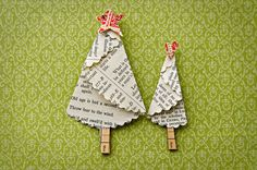 Trees made using pattern Inkspired Treasures blog: inkspiredtreasures.com/cards/stamping-411-folded-christma...
