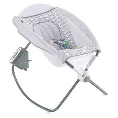 Sooth your babe with the Fisher-Price Auto Rock 'n Play Sleeper. This baby rocker uses electricity to rock and play music - helping your baby drift off to sleep. It's easily foldable for storage or convenient transportation. Fisher Price, Baby Registry Items, Baby Items, Gift Registry, Best Baby Rocker, Baby Sleeper Rocker, Newborn Sleeper, Rock And Play, Best Baby Bouncer