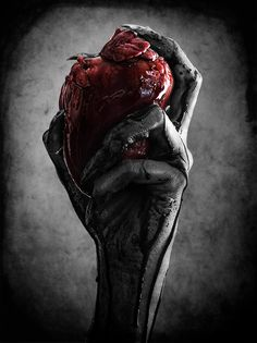 I bleed for you . . . but you didn't feel anything