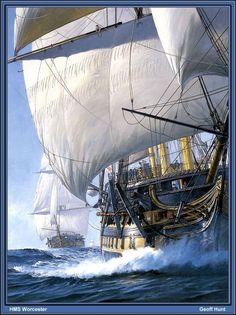 HMS Worcester (Geoff Hunt)