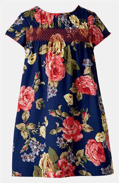 Mini Boden Smocked Dress (Little Girls & Big Girls) available at #Nordstrom
