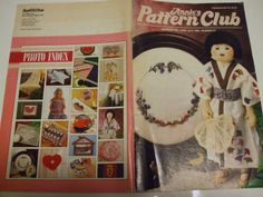 Second Silver - Annie's Pattern Club Newsletter June July 1989 No. 57, pattern pull out section