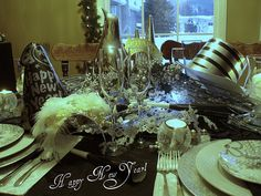 Happy New Year   Tablescape