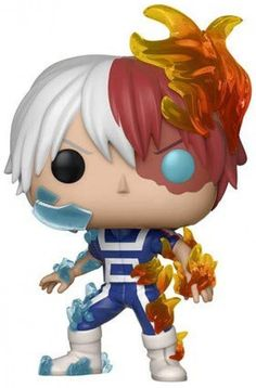 From My hero academia, Todoroki, as a stylized pop vinyl from Funko! Stylized collectable stands 3 ¾ inches tall, perfect for any My hero academia fan! Collect and display all My hero academia pop! My Hero Academia Bakugou, Hero Academia Characters, Fanart, Toy Pop, Pop Toys, Emo, Funko Pop Anime, Iida, Anime Figurines