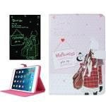 For+iPad+Mini+1/2/3+ENKAY+ENK-3348+Fluorescent+Effect+Smart+Cover+Leather+Case+with+Holder