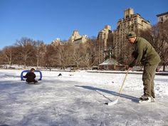 Central Park Pond Open For Skating—For Now