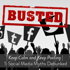 MythBusters, Rocket Post edition. Check out our 5 debunked social media myths.