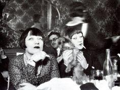 France. Kiki de Montparnasse et Hermine David, Paris, années 1920