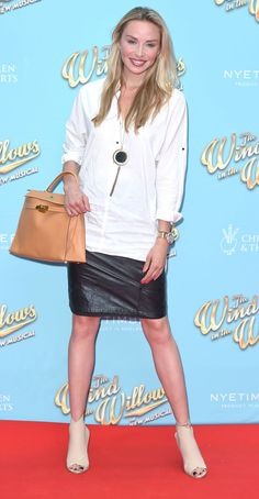 """#London, #Night Noelle Reno – """"The Wind in the Willows"""" Musical Opening Night in London, UK 06/29/2017 
