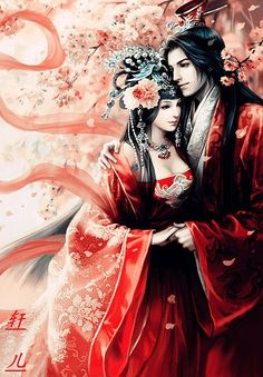 # CHINESE ART RED COUPLE http://www.digu.com/pin/texdaj1qtwydBjw