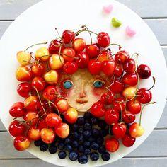 Brave! #brave #foodart #funfood #funnyfood #cutefood #donkeyandthecarrot #party
