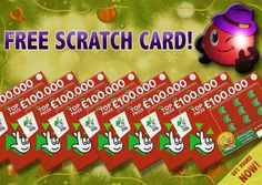 Enter for FREE now to win a scratch card with a top prize of £100,000!