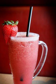 Jose Pepper's strawberry margarita is good anytime!