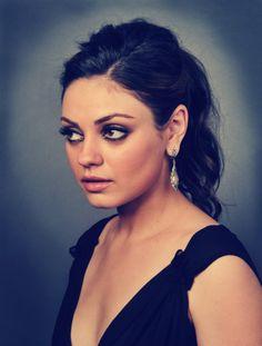 Mila Kunis: i jsut think she's hot.