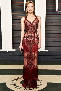 """amyadams:  """"  Diane Kruger attends the 2016 Vanity Fair Oscar Party Hosted By Graydon Carter at the Wallis Annenberg Center for the Performing Arts on February 28, 2016 in Beverly Hills, California.  """""""
