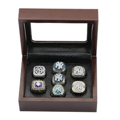 New York Yankees MLB World Series Championship Rings 7 in One Display Box for Sale Click Bio to Buy #newyorkyankees #yankees #yankeestadium #yankeesfan #yankeesgame #yankeesnation #yankeeswin #yankeesbaseball #yankeesallday #yankeesuniverse #yankeesforlife #MLB #worldseries #baseball #baseballgame #worldserieschamps #worldserieschampions #championshipring #mlbplayoffs