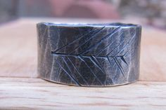 Hammered Silver Tree Ring. $61.00 #jewelry #ring #silver