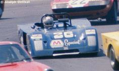 26 - Chevron B19 Ford #71-02 - Marathon - Douglas Shierson Racing Driven by: Douglas Shierson (USA)/Bill Barber (USA) listed, never drove: Raul Perez Gama (MEX), Peter Schuster (USA) Watkins Glen 6 hrs 1972