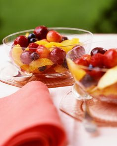 Cherry Fruit Salad - Whole Living Eat Well