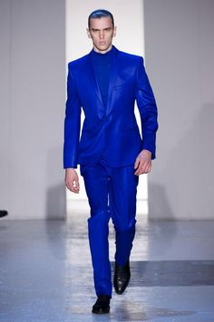 Paul Smith Blue Suit | What's your outfit today? | Pinterest ...