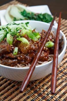 Porc aux aubergines à la chinoise
