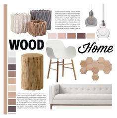 """Wood Home"" by littledesigns ❤ liked on Polyvore featuring interior, interiors, interior design, home, home decor, interior decorating and Normann Copenhagen"