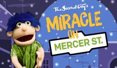 The Second City Family Holiday Show comes back to Toronto, featuring The Second City's adorable puppet troupe and their funny human friends! Mercer Street, The Second City, Holiday Gift Guide, Favorite Holiday, Toronto, Two By Two, December