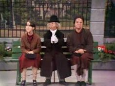 Rowan & Martin's Laugh-In Clip #11 ~ Artie Johnson as the Dirty Old Man, and Ruth Buzzi and her pocket book... vintage comedy !