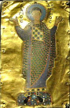 ВИЗАНТИЯ В КАРТИНКАХ - Св. Димитрий. XI в., Константинополь?