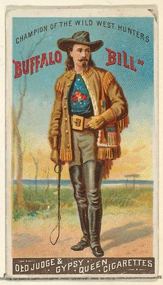 Buffalo Bill | Old Judge and Gypsy Queen Cigarettes 1888