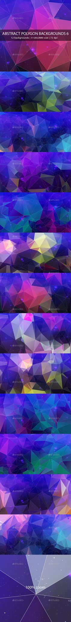 Abstract Polygon Backgrounds 6