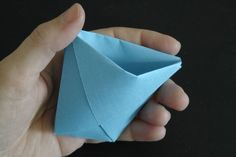 (Daily December Day 4) DIY Easy Origami Paper Cup