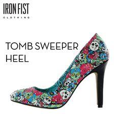 아이언피스트 TOMB SWEEPER HEEL  #ironfist #아이언피스트 #여자신발 #여자구두 #하이힐