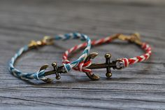 Use hemp cord to DIY these braided bracelets.