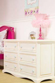 Taylor Six Drawer Scalloped Dresser