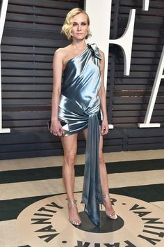 Diane Kruger In Alexandre Vauthier - At the Vanity Fair Oscar Party... - Celebrity Style