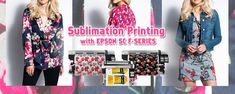 Epson F-series large format sublimation inkjet printer for fashion apparel/sportswear/yoga cloth transfer printing Epson Inkjet Printer, Transfer Printing, Large Format, Printers, Sportswear, Yoga, Fashion Outfits, Clothes, Outfits